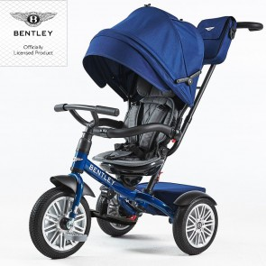 Bentley Trike Tricikel 6 v 1 - sequin blue