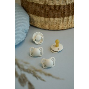 BIBS - Komplet dudic Try-it Collection, Ivory