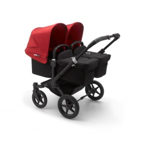 Bugaboo Donkey 3 Twin BLACK/BLACK-RED