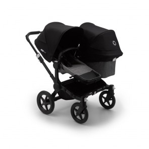 Bugaboo Donkey 3 Duo BLACK/GREY MELANGE-BLACK