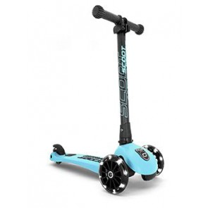 SCOOT&RIDE otroški skiro - Highwaykick 3 LED - Blueberry